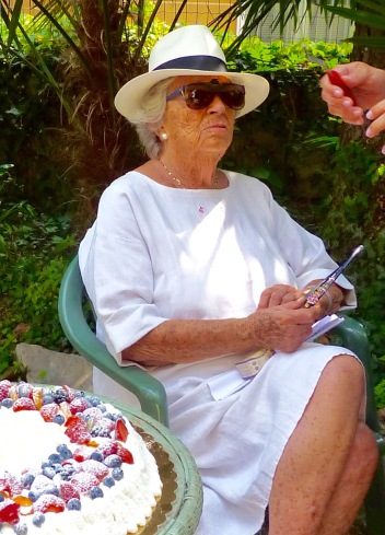 Marisa Sacco - On her 90th birthday in June 2012